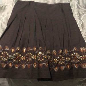 Women's skirt and shirt